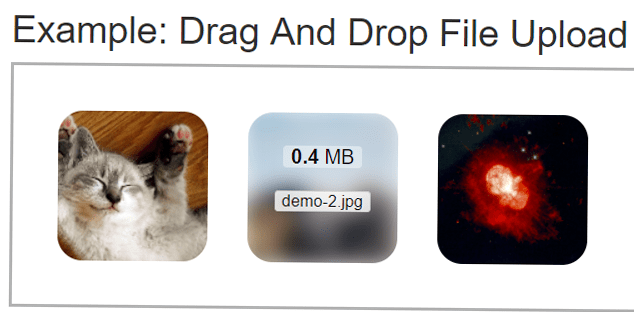 Drag And Drop File Upload with jQuery and PHP | coderszine