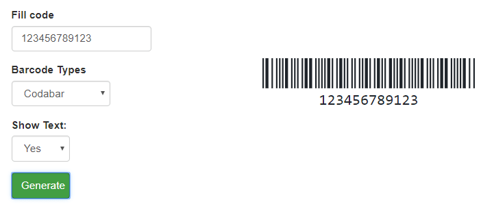 Build Barcode Generator with JavaScript | coderszine